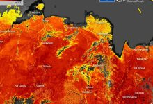 Surface temperatures in Siberia heat up to a mind-boggling 118 degrees