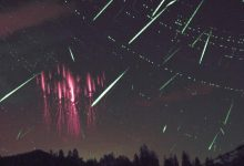 Sprites and Perseids Over the Czech Republic