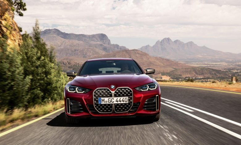 The new BMW 4 Series Gran Coupe wears its huge kidneys well     - Roadshow