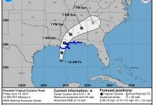 Potential Tropical Cyclone 3 at 11 a.m. June 18, 2021.