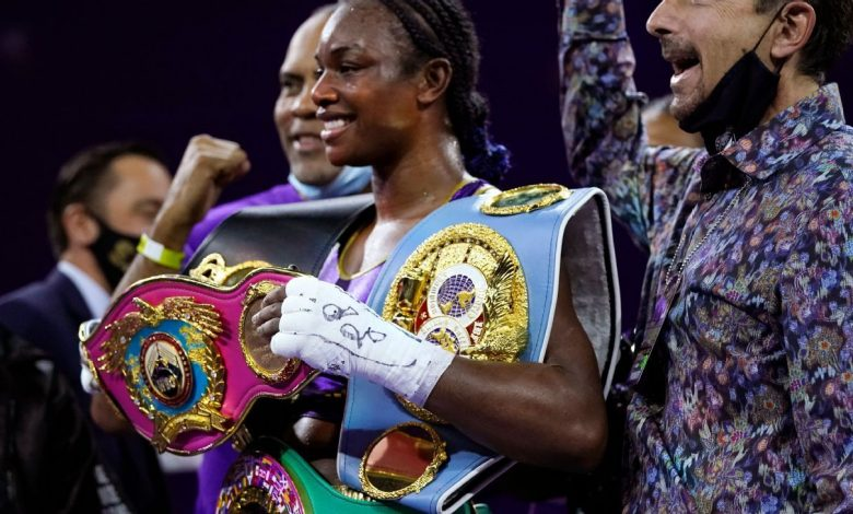 Two-division boxing champion Claressa Shields is serious about her future in MMA