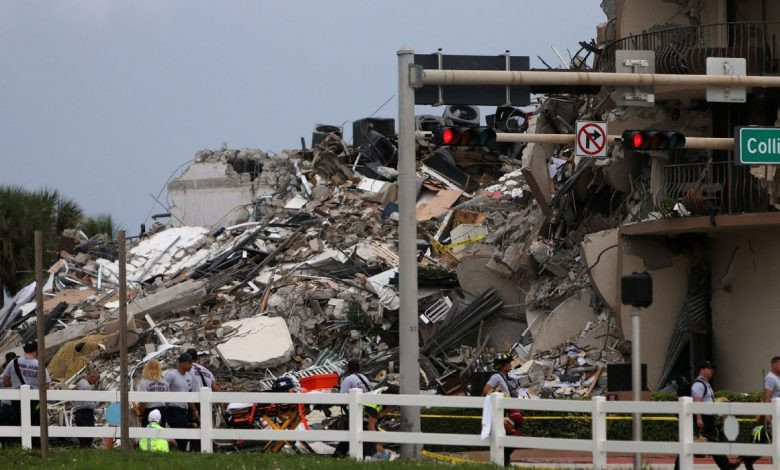 UConn Huskies pitcher, family barely escape Florida building collapse