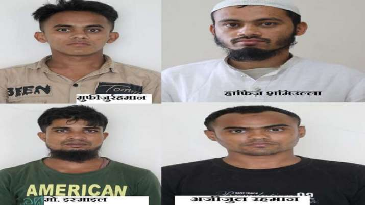 Several Rohingyas who were residing illegally in Uttar