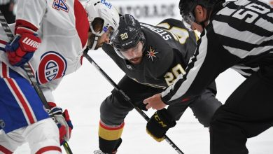 Vegas Golden Knights have center concerns for Game 3 against Montreal Canadiens