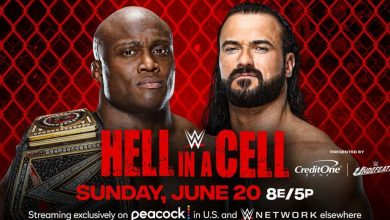 WWE Hell in a Cell 2021: How to watch, updated card and start times