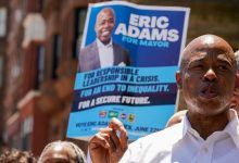 Democratic mayoral candidate Eric Adams has focused on the issue of public safety and policing in New York.