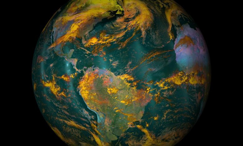 Earth in a Different Light