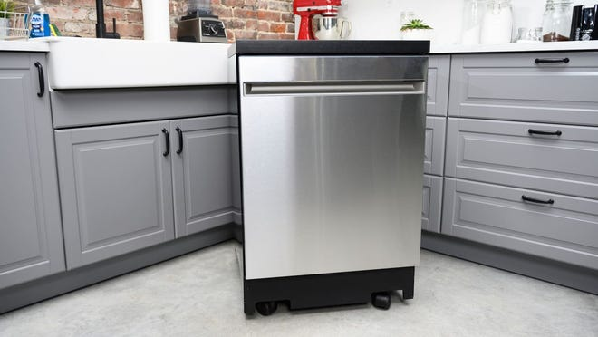 This portable dishwasher cleans like a dream.