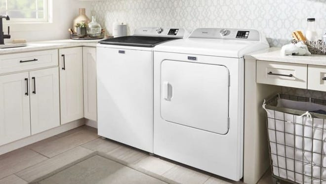 Maytag offers a plethora of high-quality washers, dryers and other appliances.
