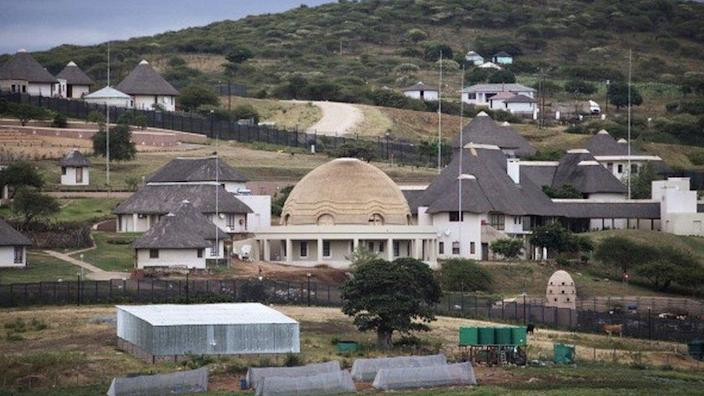 A view of the controversial homestead of South African President Jacob Zuma in Nkandla on January 21, 2014