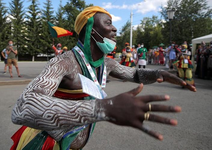 This year, 2,000 performers from more than 60 countries are expected to take part in the folklore festival