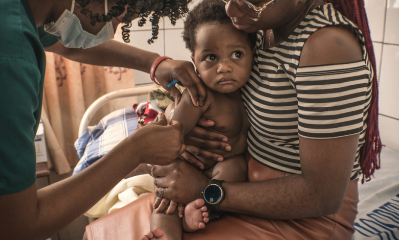 Measles vaccines missed because of Covid focus