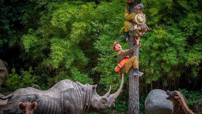 A safari of explorers from around the world finds itself up a tree after the journey goes awry on the world-famous Jungle Cruise at Disneyland Park.