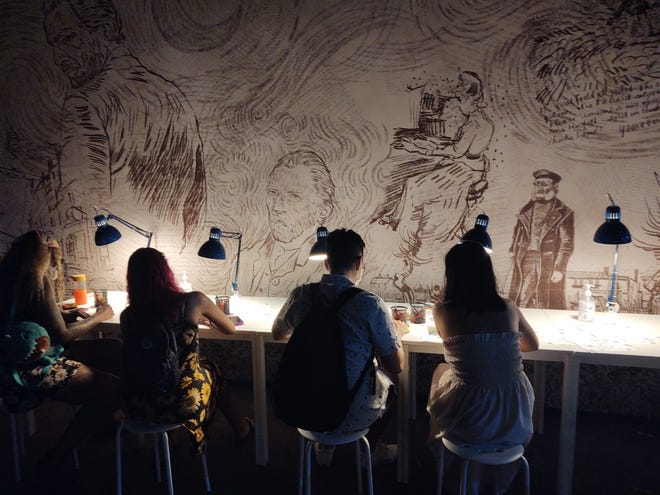 """Van Gogh: The Immersive Experience. """"Create Your Own Masterpiece."""""""