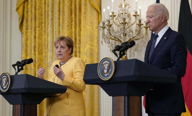 US lifted Nord Stream 2 sanctions to gain German cooperation in safeguarding Ukraine, Biden says