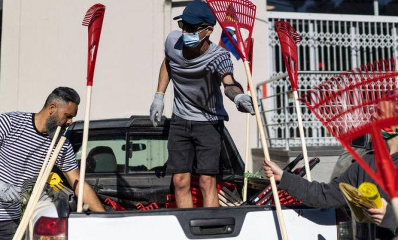 Clean-up to mark Nelson Mandela Day