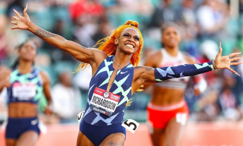 2021 Tokyo Olympics - Suspended track star Sha'Carri Richardson gets support from Patrick Mahomes, Damian Lillard, other athletes