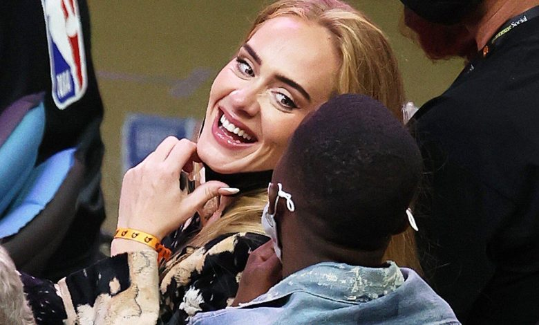 Adele Rocks Stylish Outfit While Making Rare Appearance at NBA Finals Game in Arizona