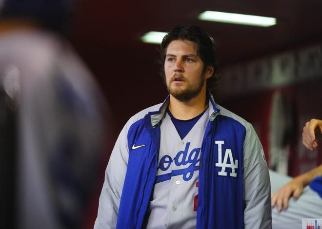 Bauer joined the Dodgers ahead of the 2021 season.
