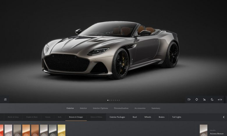 Aston Martin's new online configurator is more powerful and easier to use     - Roadshow