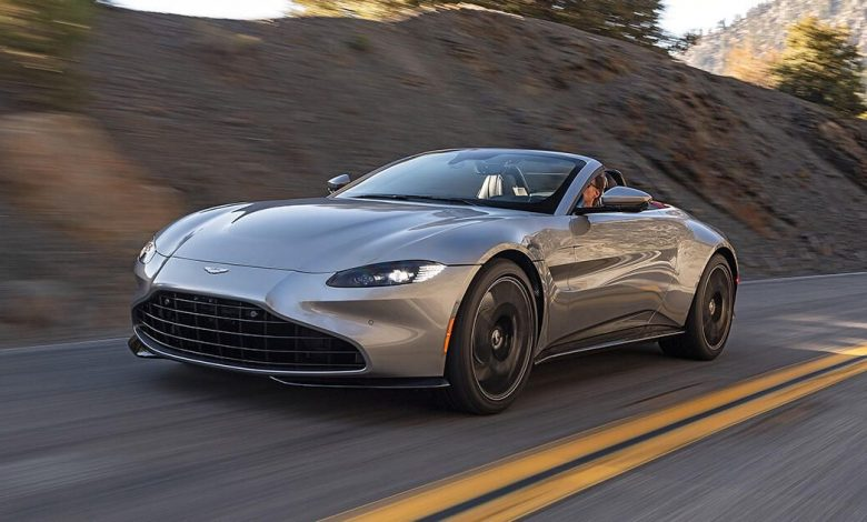 Aston Martin's updated online configurator shows off new 2022 model year options
