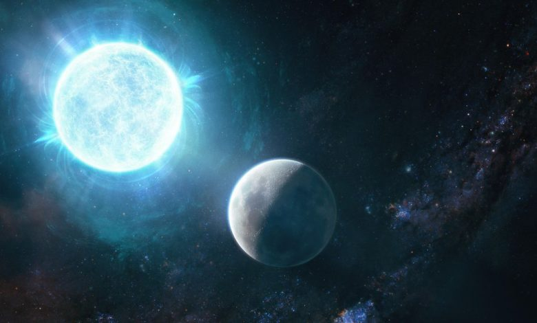 Astronomers just found a star as small as the moon but more massive than the sun