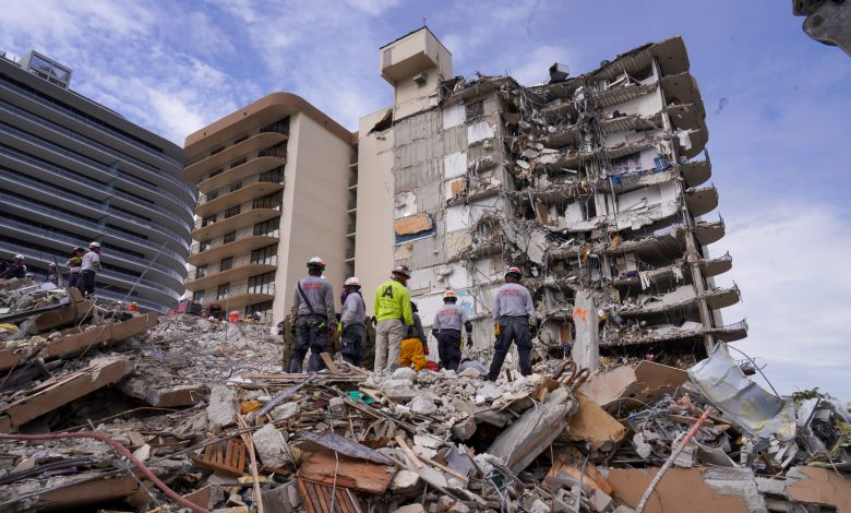 At least 24 dead in Florida condo collapse, demolition as early as Sunday