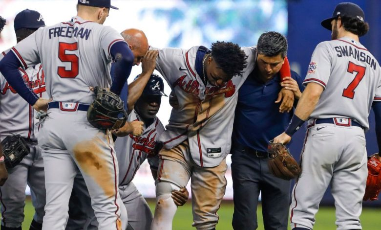 Atlanta Braves' Ronald Acuna Jr. vows he will return from torn ACL stronger than ever