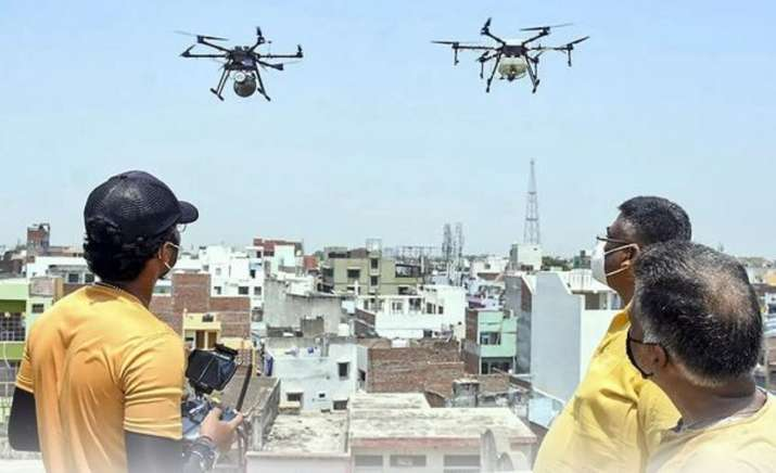drone flying rules in india