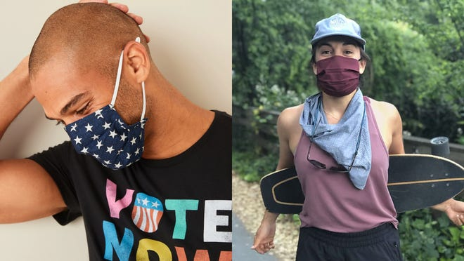 Stay cool with these breathable face masks for summer.