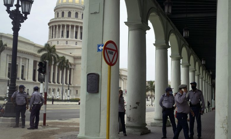 Cuba's president says government has some blame for protests