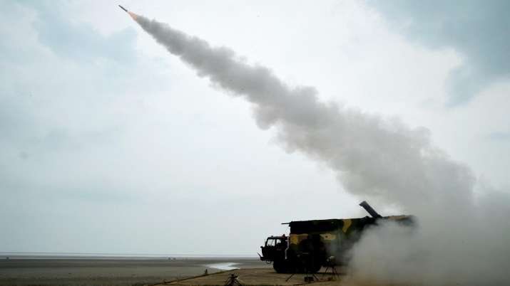 DRDO Akash Missile test launch