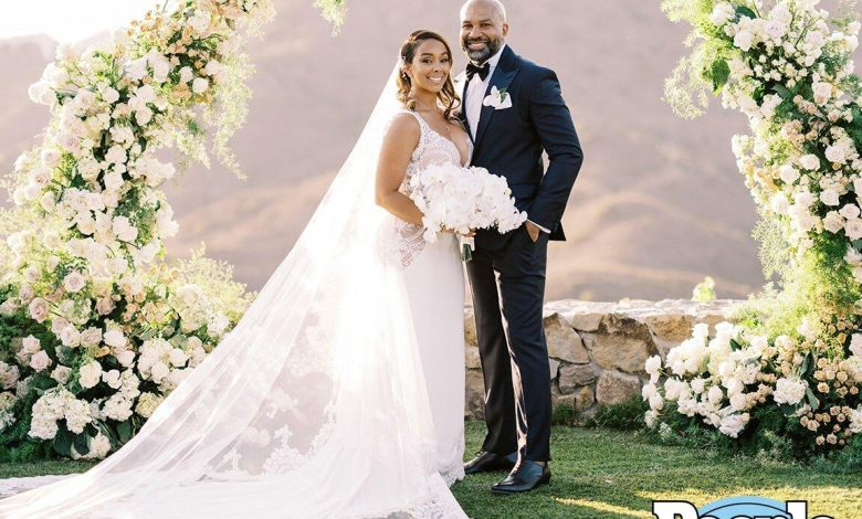 Derek Fisher and Gloria Govan Are Married! Couple Ties the Knot After Pandemic Delayed Wedding