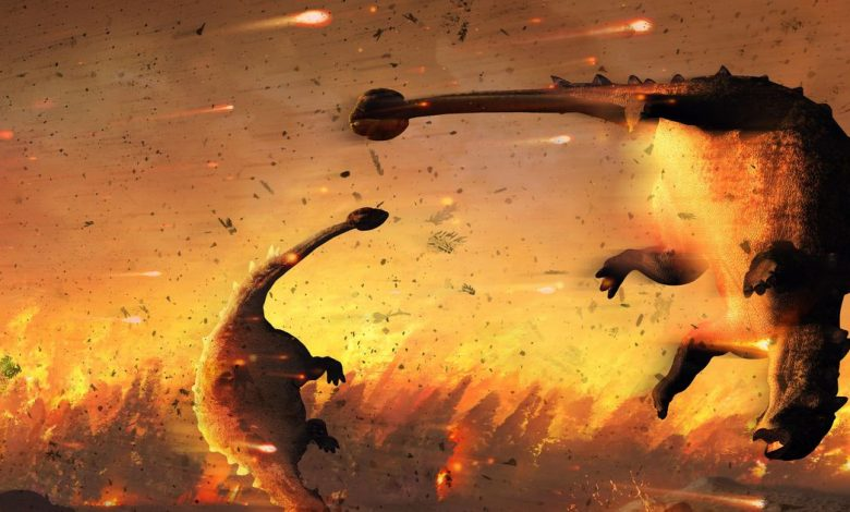 Dinosaurs were declining before asteroid death blast finished them off