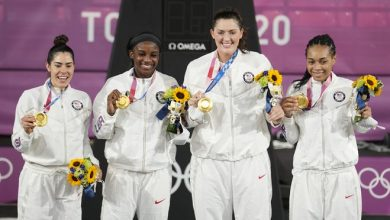 Each U.S. athlete's medals at the Tokyo Olympics