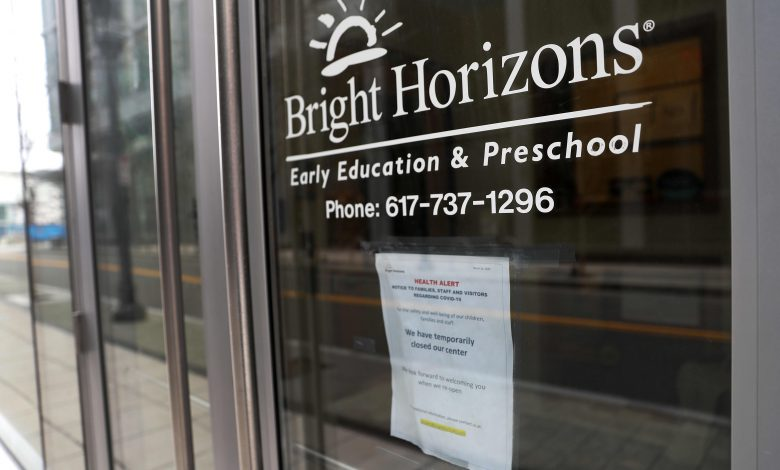 Employers sweeten child-care benefits to win over workers