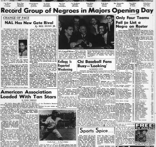 Ernie Banks, Minnie Miñoso, and the Summer of '54