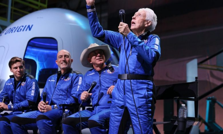 Even Jeff Bezos critics have to love that Wally Funk got her spaceflight
