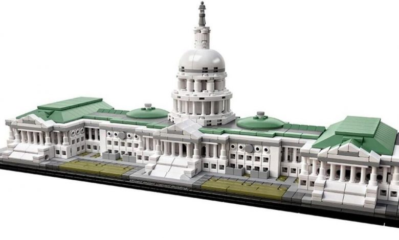 FBI seizes fully constructed US Capitol Lego set from alleged rioter's home