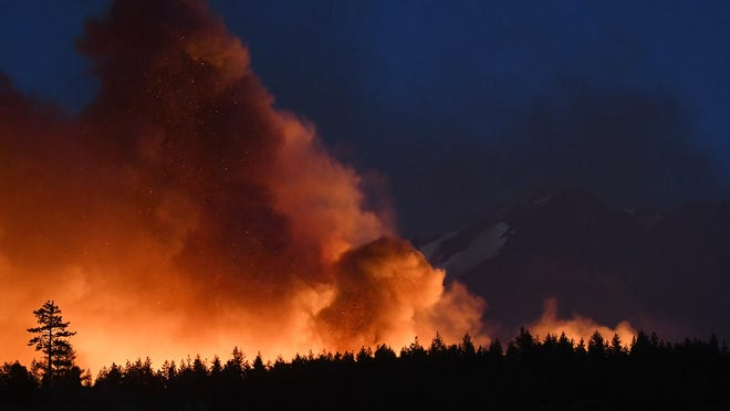 Fire season in the western United States outpacing historic totals