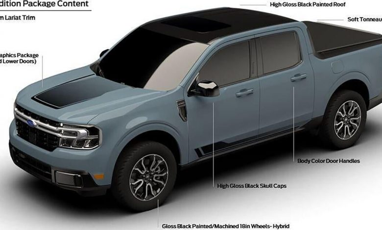 Ford Maverick First Edition tweaks shown for first time in leak