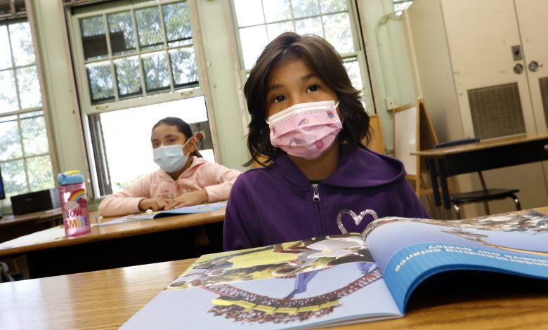 Fully vaccinated teachers and students don't need to wear masks indoors