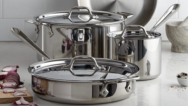 All-Clad cookware is up to 55% off at Macy's right now.