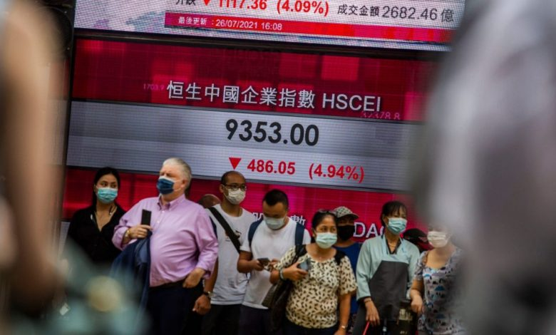 Global stock markets sag as SEC brings hammer down on Chinese companies