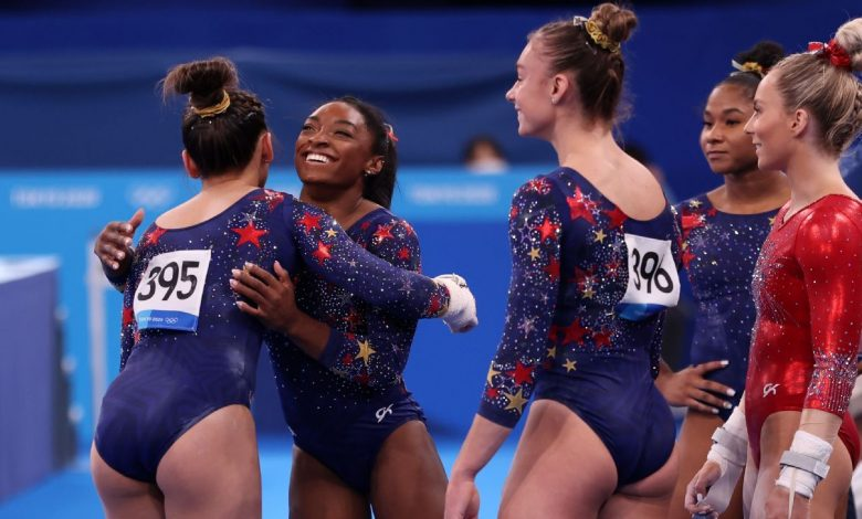 Here's who joins Simone Biles in finals after U.S. women's gymnastics team competes against itself