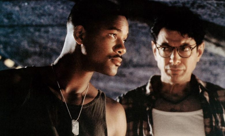 How Jeff Goldblum plagiarized his own famous 'Jurassic Park' line for sci-fi blockbuster