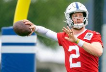 Indianapolis Colts QB Carson Wentz out indefinitely with foot injury -- sources