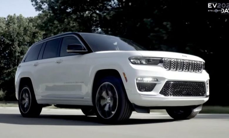 Jeep promises full line of EVs by 2025, teases Grand Cherokee 4xe