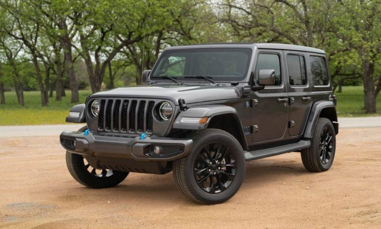 Jeep says the Wrangler 4xe is the best-selling PHEV in Q2