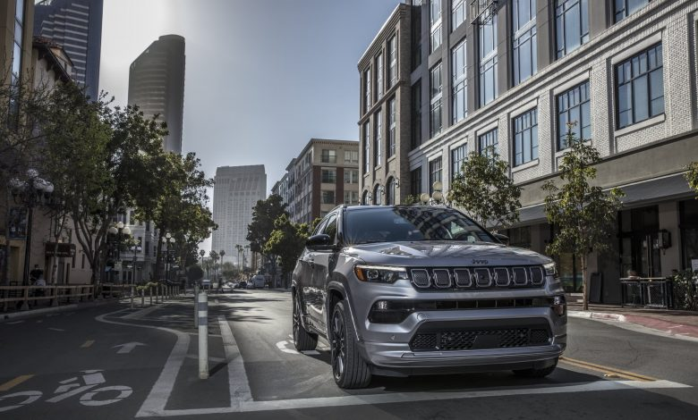 Jeep unveils new small Compass SUV ahead of EV push